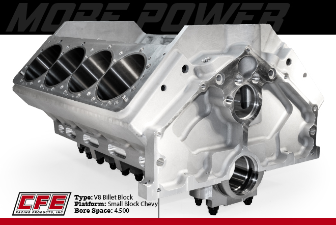 CFE | Racing Heads - Fabricated Manifolds - Billet Blocks